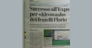 Successo all'Expo per «Idrowash» dei fratelli Florio