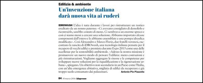 Un'invenzione italiana darà nuova vita ai ruderi