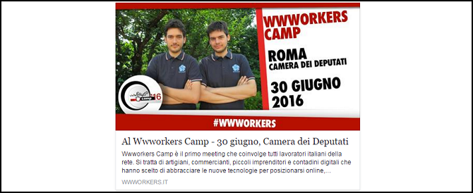 Wwworkers Camp 2016