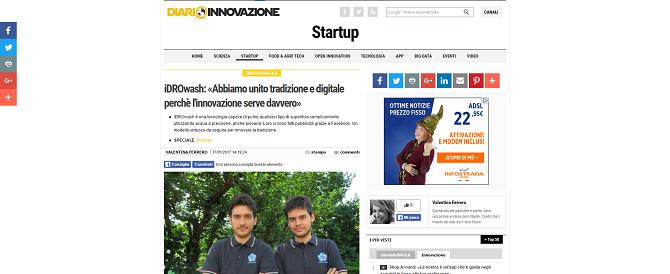 iDROwash: «Abbiamo unito tradizione e digitale perché l'innovazione serve davvero»