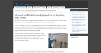 Idrowash: dall'Italia la tecnologia perfetta per la pulizia degli esterni