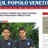 iDROwash, l'innovativo sistema per pulire inventato dai fratelli veronesi Alessandro e Marco Florio