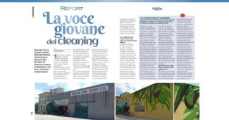 La voce giovanedel cleaning