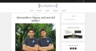 Alessandro e Marco, noi eroi del pulito!