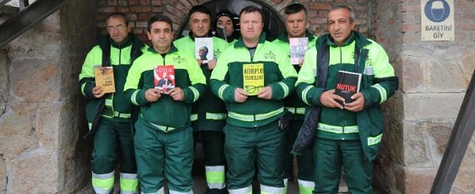 Serhat, il netturbino che salva i libri – Eroi del Pulito – Storie di veri eroi del quotidiano