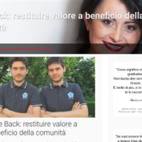 Give Back: restituire valore a beneficio della comunità