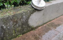 Muretto di recinzione in cemento 1