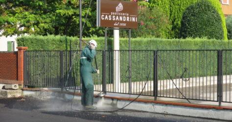 Muretto di recinzione in cemento 13