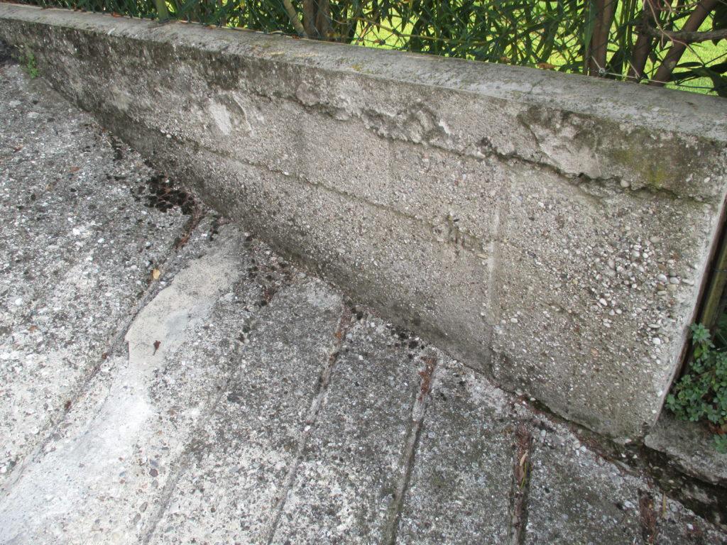 Muretto in cemento 1