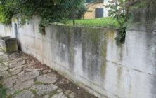 Pulizia muro di contenimento, che fare?