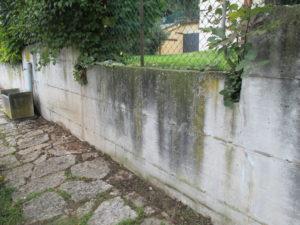 Preventivo Muro Cemento Armato.Pulizia Muro Di Contenimento Che Fare Idrowash Si Prende Cura