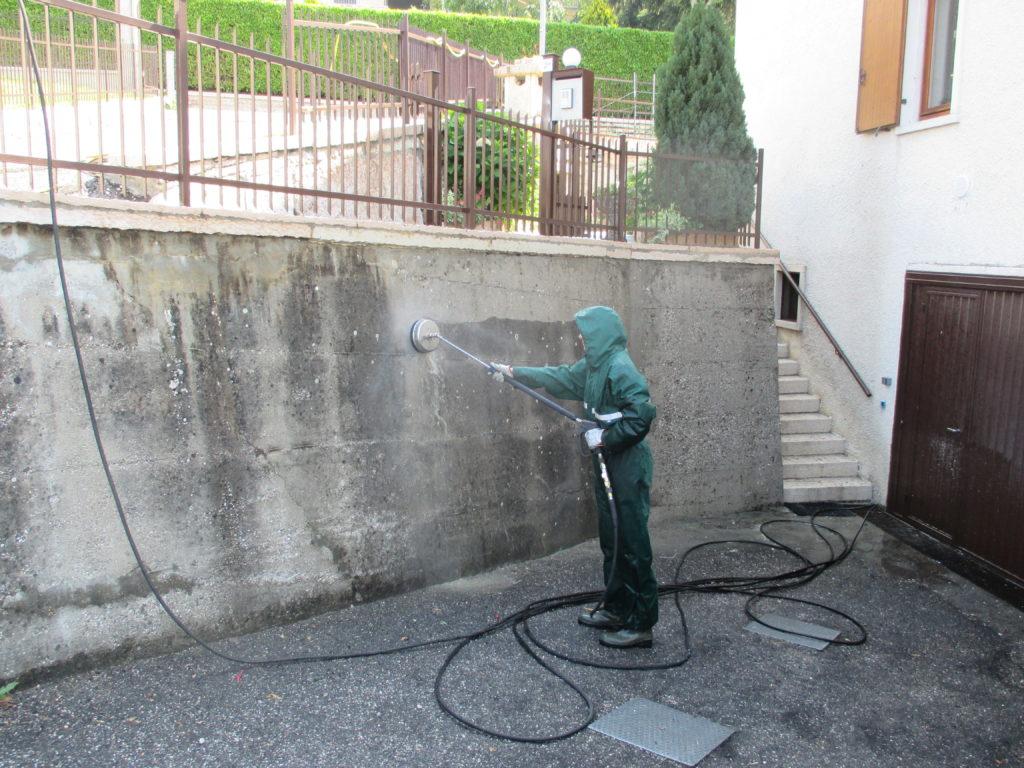 Muro cemento grezzo 9