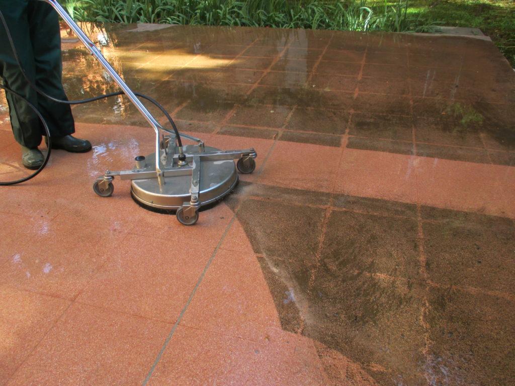 Pavimento graniglia rosa 1