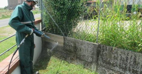 Recinzione in cemento 5
