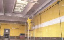 Pulizia pareti e soffitto capannone, che fare?