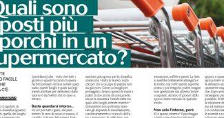 Quali sono i posti più sporchi in un Supermercato?