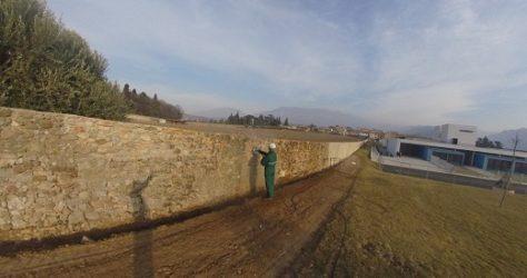 Come Pulire Muri Recinzioni Pietra