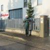 come pulire muri recinzioni industriali commerciali
