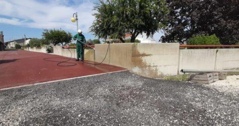 Muretto di recinzione in cemento 19