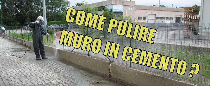 Come pulire muro in cemento copertina