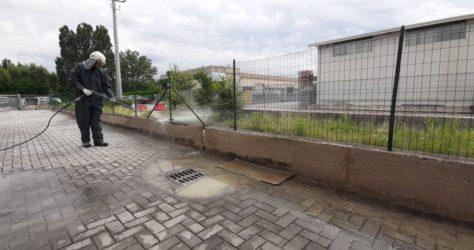 Muretto di recinzione in cemento 31