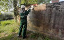 Muro cemento grezzo 32