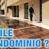Come pulire il cortile del condominio
