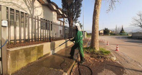 Muretto di recinzione in cemento 49